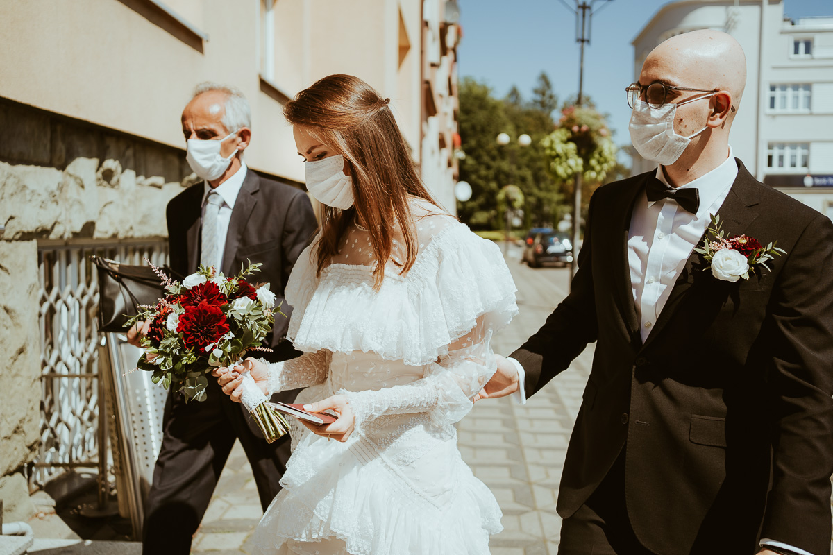 fotografia slubna czechowice slub w pandemii 016