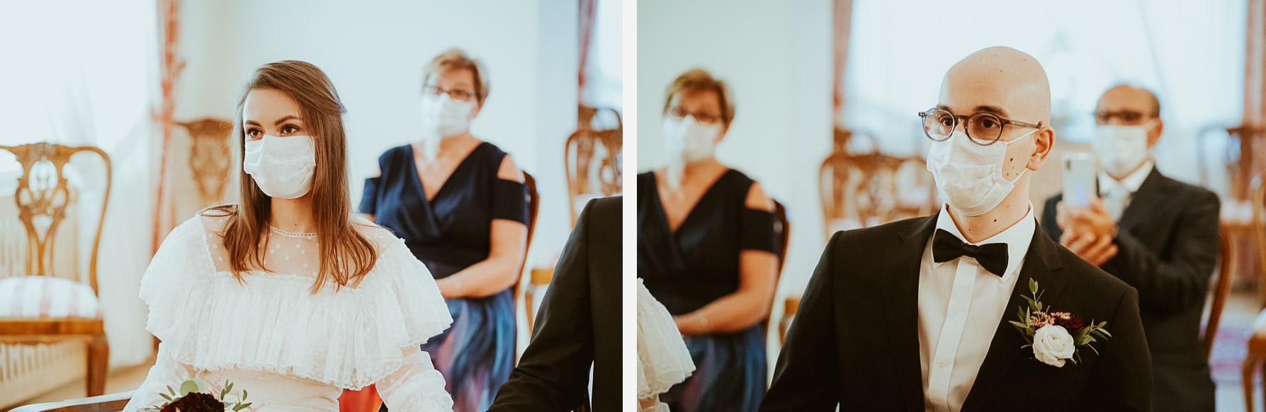 reportaz slubny czechowice slub w pandemii 021