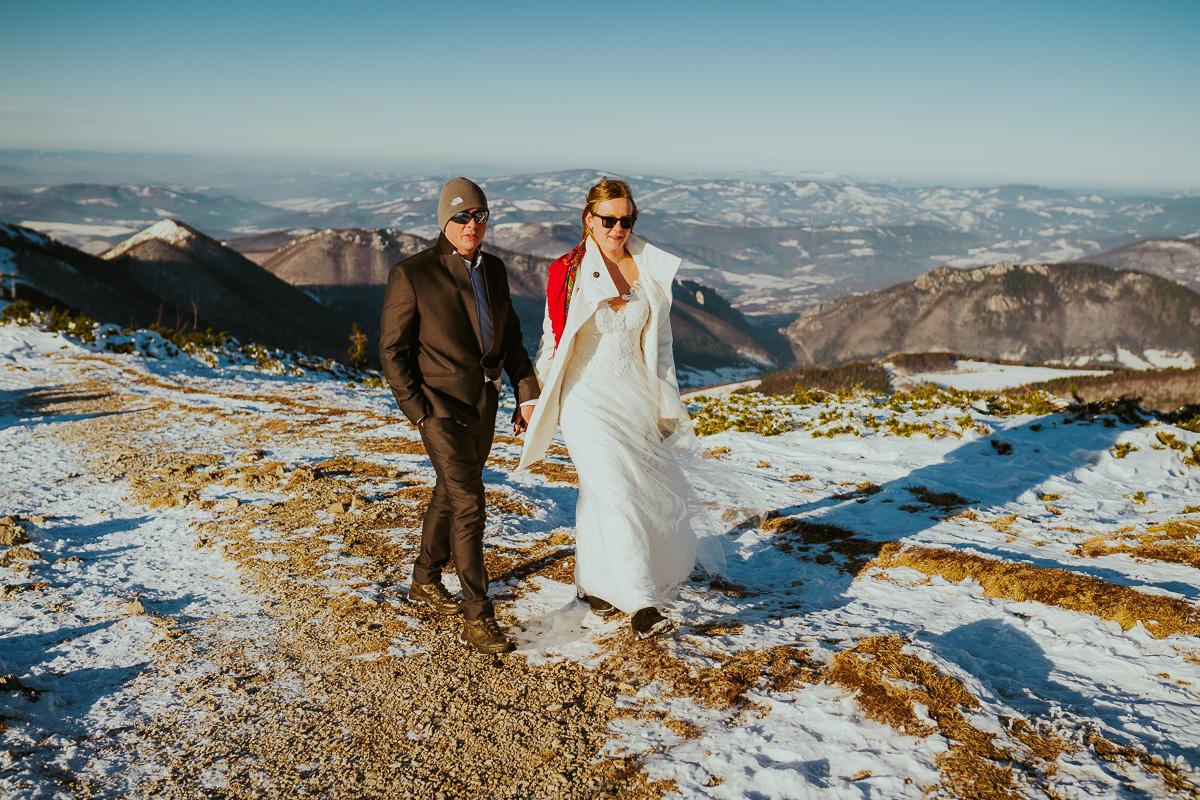 sesja slubna w gorach zima mala fatra 017