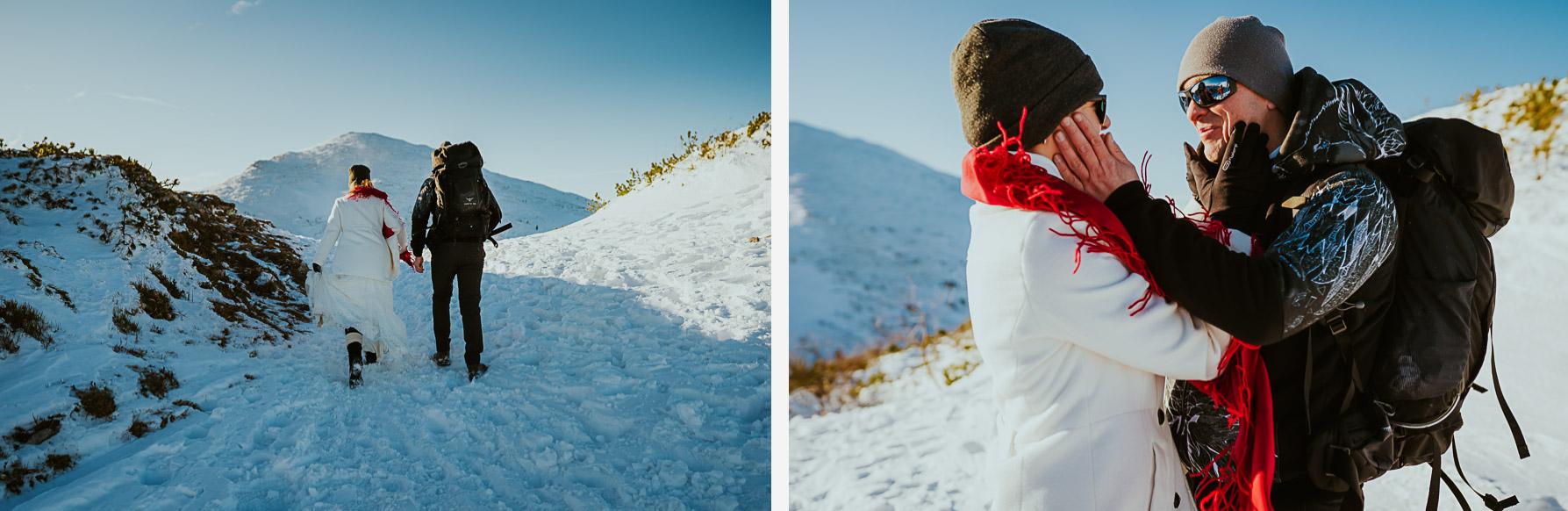 sesja slubna w gorach zima mala fatra 021